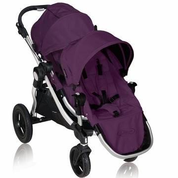 Baby Jogger City Select Stroller with Second Seat Kit in Amethyst