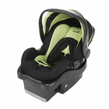Safety 1st Onboard 35lb Infant Car Seat in Black & Lime Green 22356TRI (2009)