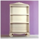 Bratt D�cor Chelsea Collection Bookcase - Antique Silver