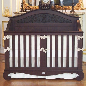 Bratt D�cor Chelsea Collection Lifetime Crib - Espresso