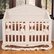 Bratt D�cor Chelsea Collection Lifetime Crib - White