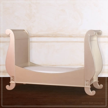 Bratt D�cor Chelsea Collection Toddler Bed Kit - Antique Silver