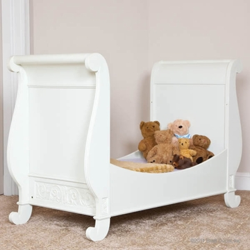 Bratt D�cor Chelsea Collection Toddler Bed Kit - White