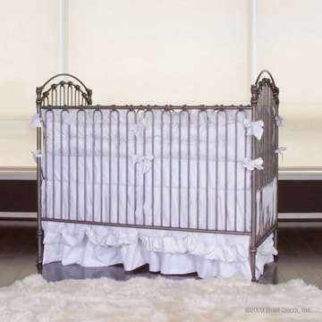 Bratt D�cor Heirloom Iron Collection Venetian 3 In 1 Crib - Pewter