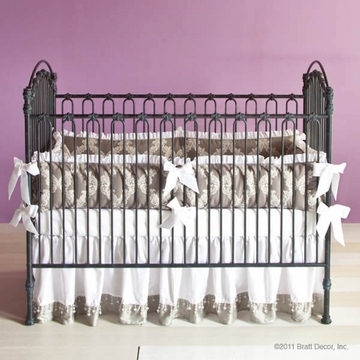 Bratt D�cor Heirloom Iron Collection Venetian 3 In 1 Crib - Slate