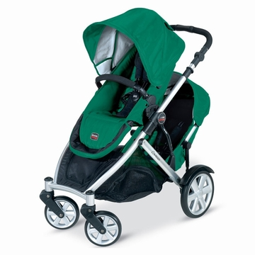 Britax B-Ready Stroller and 2nd Seat In Green