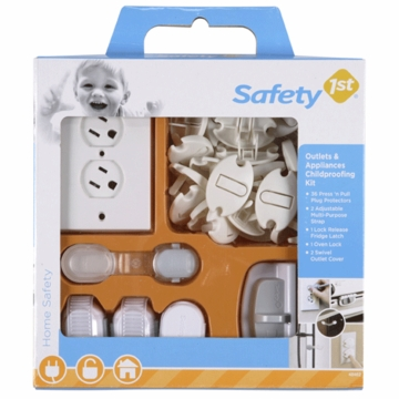 Safety 1st 42 PC Outlet & Applicance Kit - D