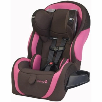 Safety 1st Complete Air LX Convertible Car Seat in Pink/Brown