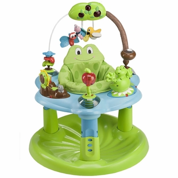 Evenflo ExerSaucer Jump & Learn Active Learning Center - Frog