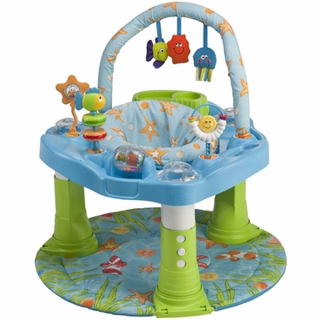 Evenflo Double Fun Developmental Activity Center - Ocean