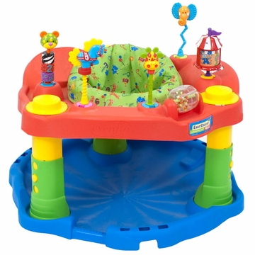 Evenflo ExerSaucer Deluxe Active Learning Center - Green Circus