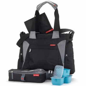 Skip Hop Bento Tote in Black