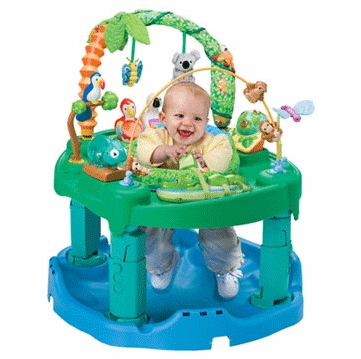 Evenflo ExerSaucer Triple Fun Active Learning Center Jungle