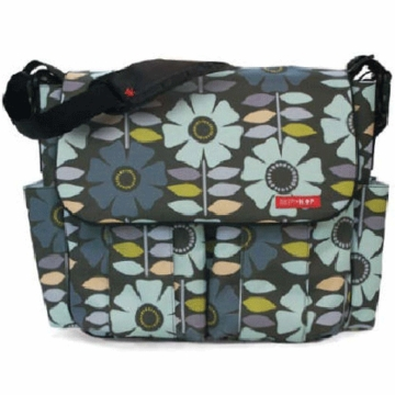 Skip Hop Dash Deluxe Edition Diaper Bag Pop Flower