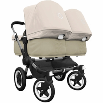 Bugaboo Donkey Twin Stroller in Sand/Off-White