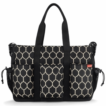 Skip Hop Duo Double Diaper Bag - Onyx Tile