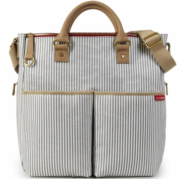 Skip Hop DUO Essential Diaper Bag - Limited Edition French Stripe