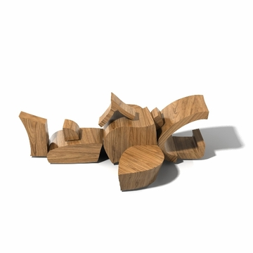 Brinca Dada Wooden Blocks