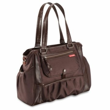 Skip Hop Studio Diaper Tote in Chocolate