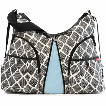 Skip Hop Versa Expandable Diaper Bag - Sketch Diamond