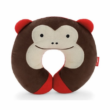 Skip Hop Zoo Travel Neckrests - Monkey