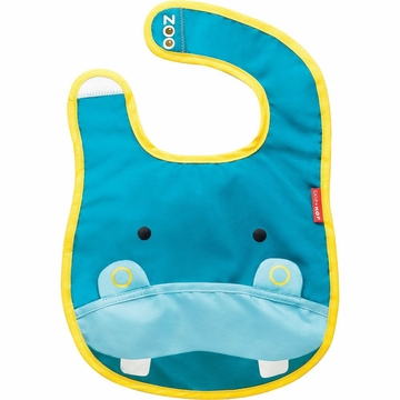 Skip Hop Zoo Tuck-Away Bib - Hippo
