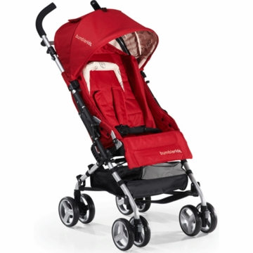 Bumbleride 2012 Flite Lightweight Compact Travel Stroller in Ruby