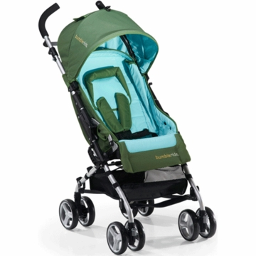 Bumbleride 2012 Flite Lightweight Compact Travel Stroller in Seagrass