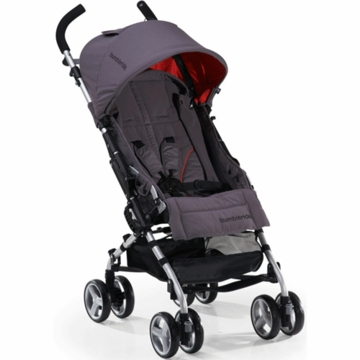 Bumbleride 2012 Flite Lightweight Compact Travel Stroller in Fog