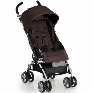 Bumbleride 2012 Flite Lightweight Compact Travel Stroller in Walnut
