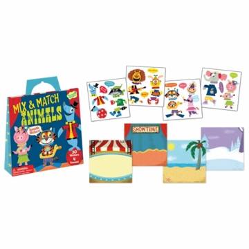 Peaceable Kingdom Mix & Match Animals Sticker Pack