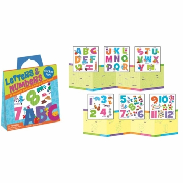 Peaceable Kingdom Letters & Numbers Sticker Pack