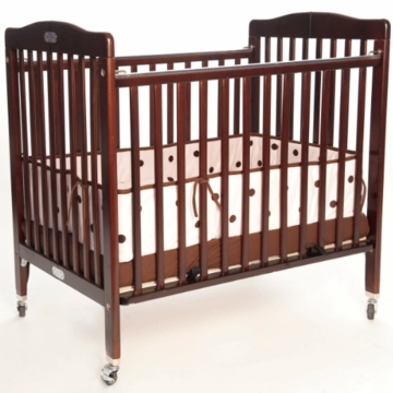 LA Baby Deluxe Portable Crib 883A - Cherry