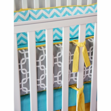 Caden Lane Bright Baby Gray Bumper (Limited Edition)