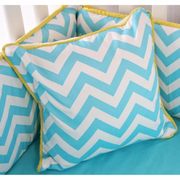 Caden Lane Bright Baby Gray Square Pillow (Limited Edition)