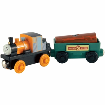 Thomas & Friends Wooden Railway Dash & The Launching Log- 2 Pack