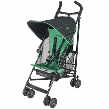 Maclaren Volo Stroller 2012 Black / Jelly Bean Green