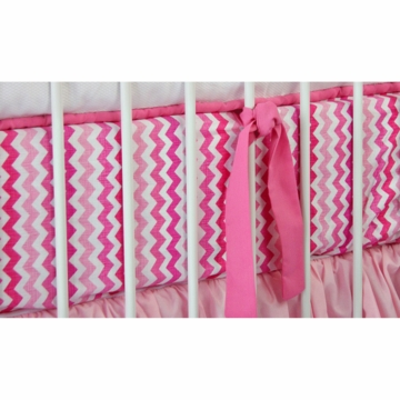 Caden Lane Girly Zig Zag Crib Sheet (Limited Edition)