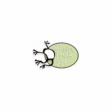 Green Frog Art Crib Foam Mattress