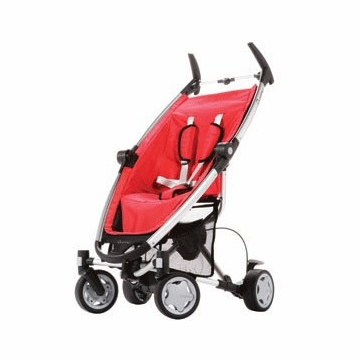 Quinny Zapp Stroller 2009/2010 Strawberry