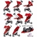 Quinny Zapp Xtra Folding Seat - Rebel Red