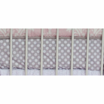 Caden Lane Sweet Lace Damask Crib Sheet (Limited Edition)
