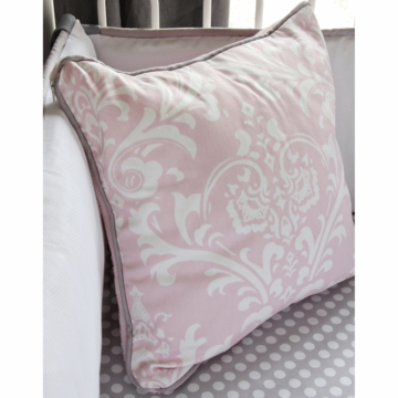 Caden Lane Sweet Lace Damask Square Pillow (Limited Edition)