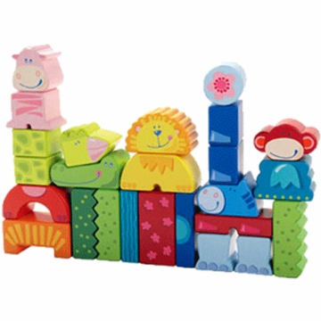 Haba Eeny Meeny Miny Zoo Building Blocks