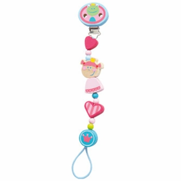 Haba Heart Princess Pacifier Chain