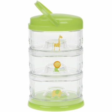 Innobaby Packin' SMART Three Tier Zoo Animal Series in Lime Sorbet