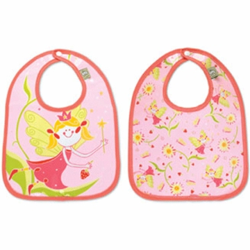 Sugar Booger Fairies & Berries Mini Bib Gift Set of 2