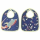 Sugar Booger Outerspace Mini Bib Gift Set of 2