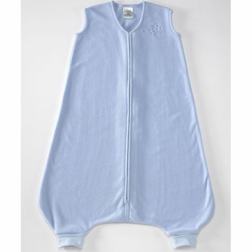 Halo Micro-Fleece Early Walker SleepSack Wearable Blanket - Baby Blue - Large