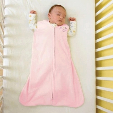 Halo Micro-Fleece SleepSack Wearable Blanket - Soft Pink - Medium